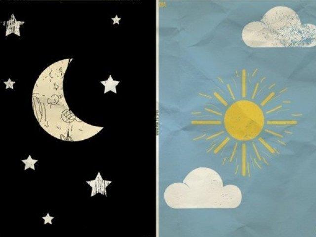 Será que você combina mais com o dia ou com a noite?