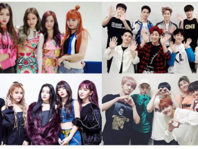 Em qual grupo de k-pop você debutaria?