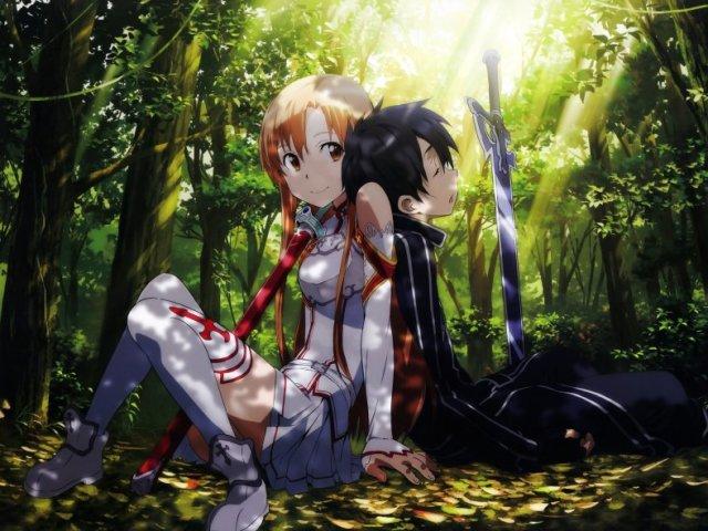 Quem você seria em Sword Art Online?