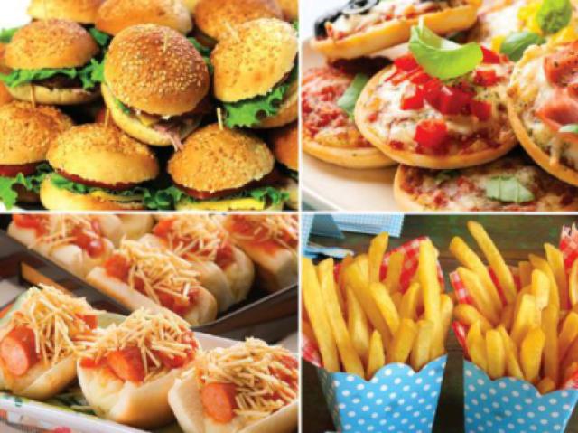 Qual comida você seria!? 🍟🍔🍕🍝🍣