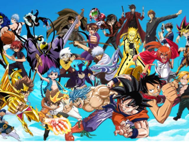 Adivinhe os animes pelas imagens