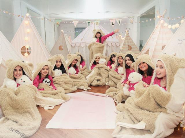 Como que seria a sua festa do pijama?