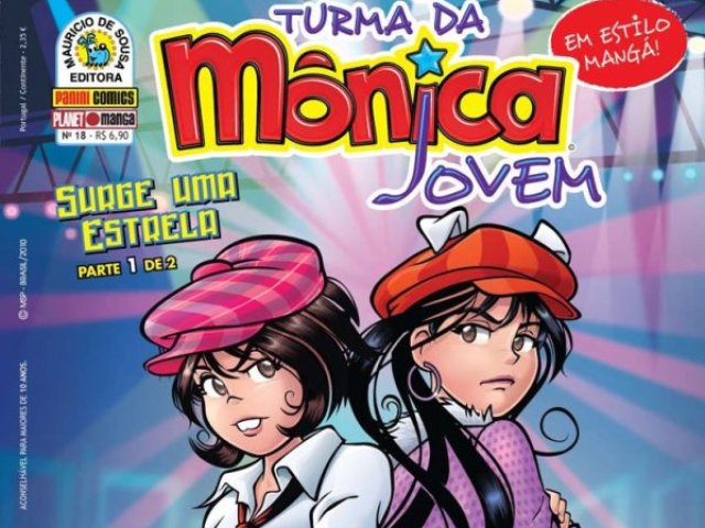 """Quiz Da """"Turma Da Mônica Jovem: Surge Uma Estrela""""💫"""