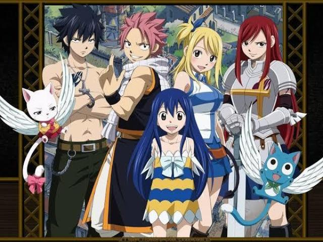 Qual personagem do time Natsu você seria?