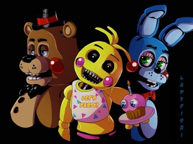 Qual animatrônico você seria em Five Nights at Freddy's?