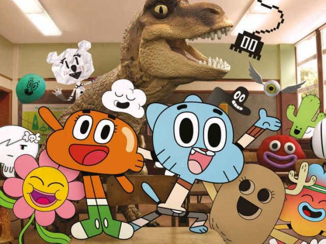 Qual personagem você seria do Incrível Mundo de Gumball?
