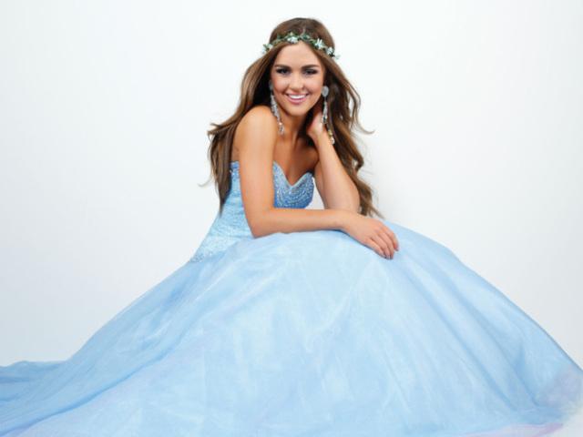 Qual seria seu vestido de debutante?