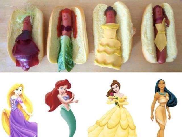 Qual princesa da Disney versão Hot Dog você seria?