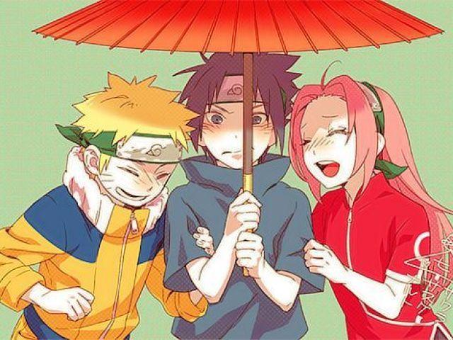 Qual personagem de Naruto (clássico) você seria?