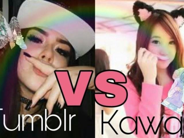 Você é Tumblr ou Kawai ou gótica 💕 ❤