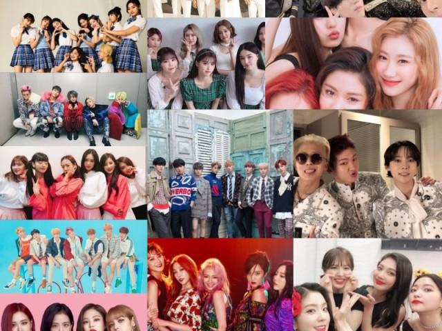 Em Qual Grupo de K-pop Você Ficaria?