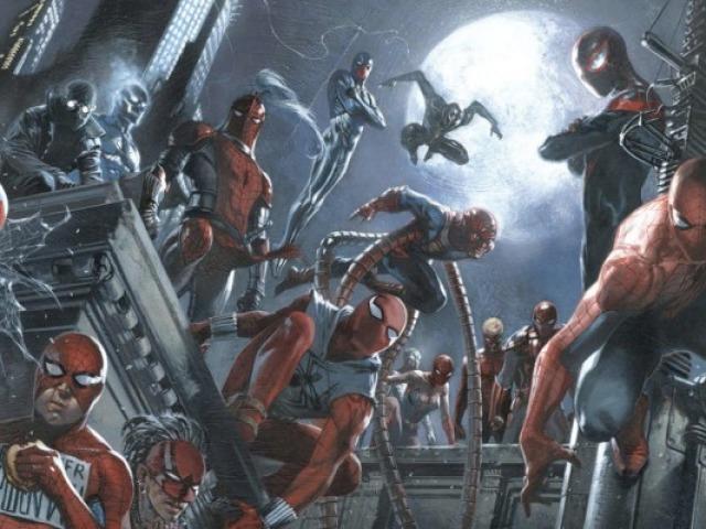 Você consegue descobrir qual é o Homem-Aranha apenas pela imagem?