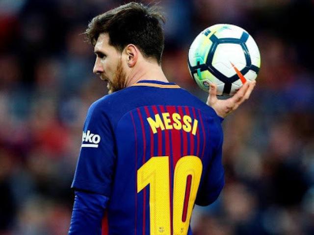 Então, você é mesmo fã do Messi?