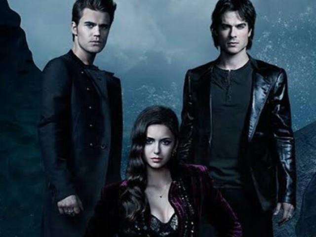 Você é mesmo fã de The Vampires Diaries?
