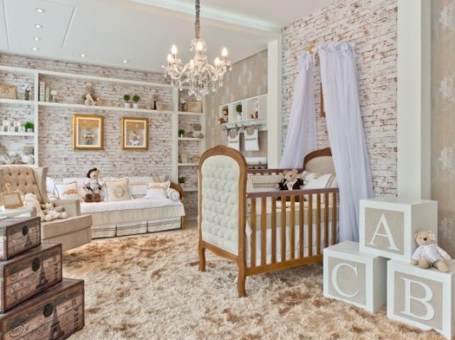 Qual será o quarto da sua bebê?