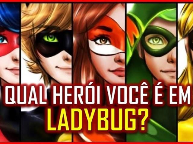 Qual herói de Miraculous Ladybug você é?