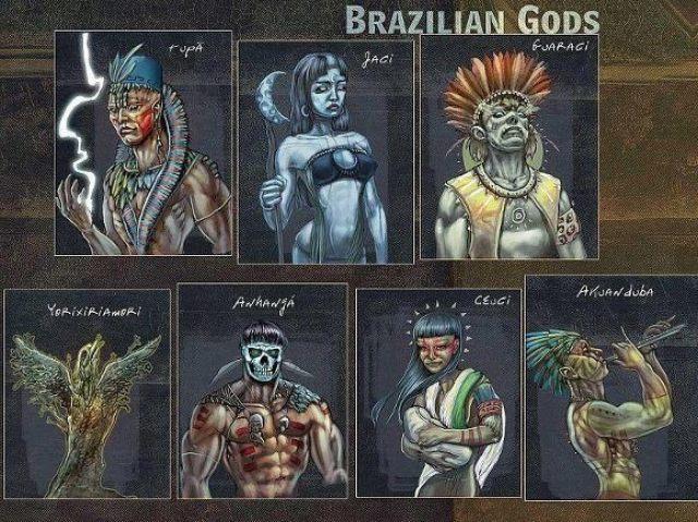 Você conhece a mitologia brasileira?