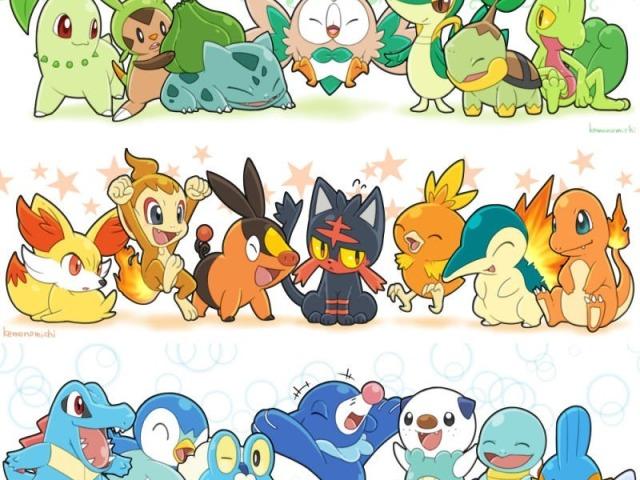 Pokémon: Qual inicial mais combina com você?