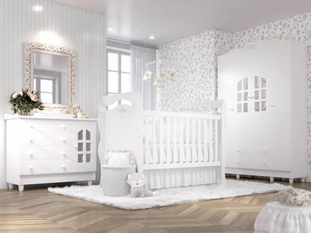 Como será o quarto ideal para seu bebê?