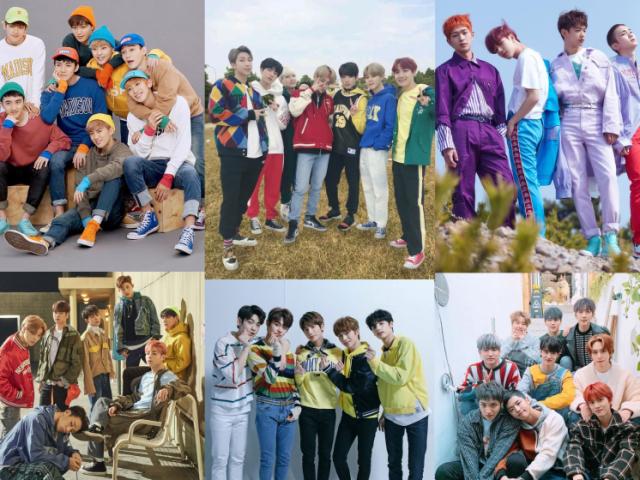 Você conhece esses boy groups?