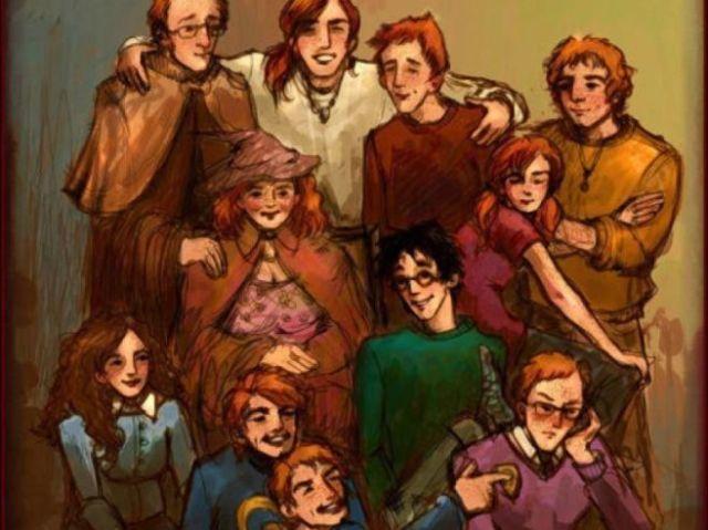 Quem tu serias na família Weasley?