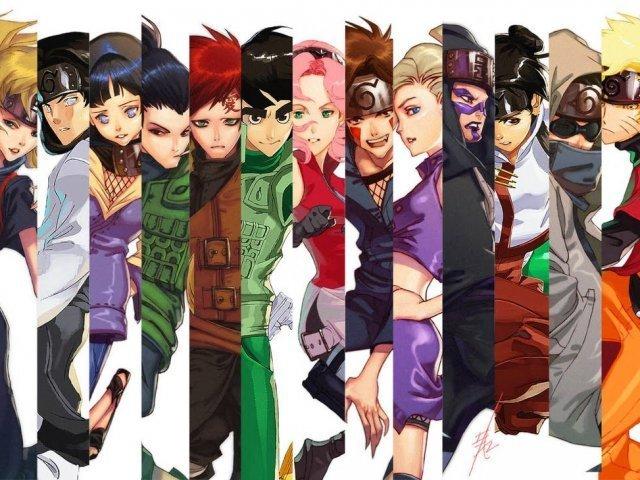 Qual dos personagens do Naruto você é?