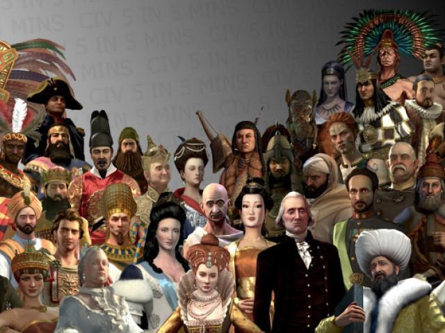 Com qual grande líder você se parece?
