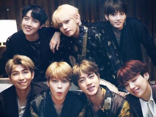 Com que membro do BTS você mais se parece?