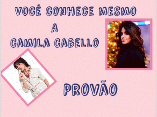 Provão Camila Cabello