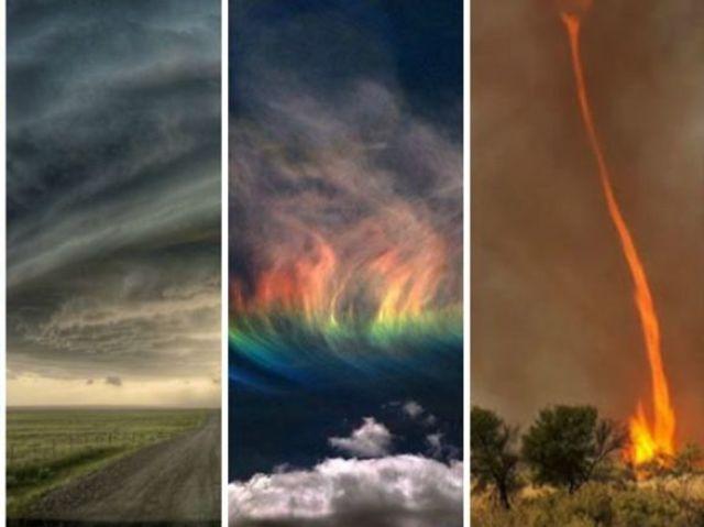 Qual fenômeno natural mais combina com você?