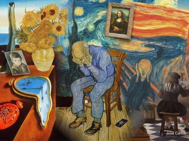Com qual pintor famosos você se parece?