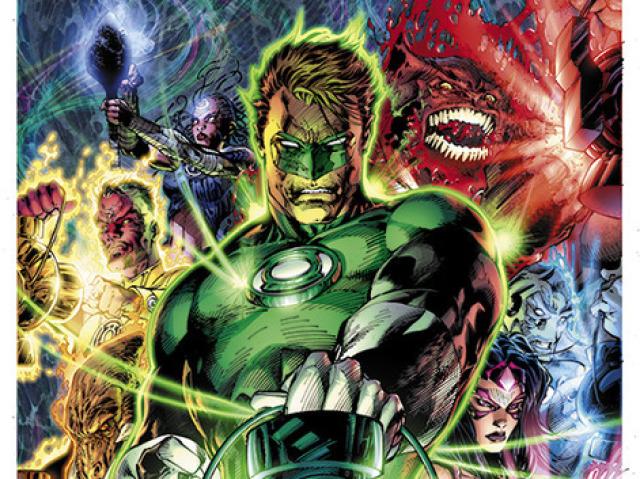 Quiz sobre o Lanterna Verde!