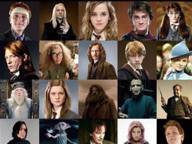 Você conhece todos os personagens de Harry Potter?