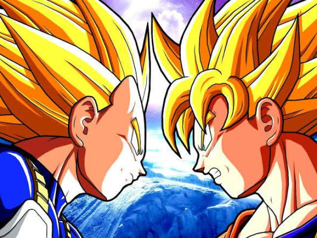 Quem você seria? Goku a Vegeta?