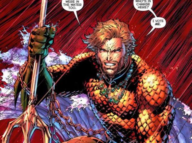Quiz sobre o Aquaman!