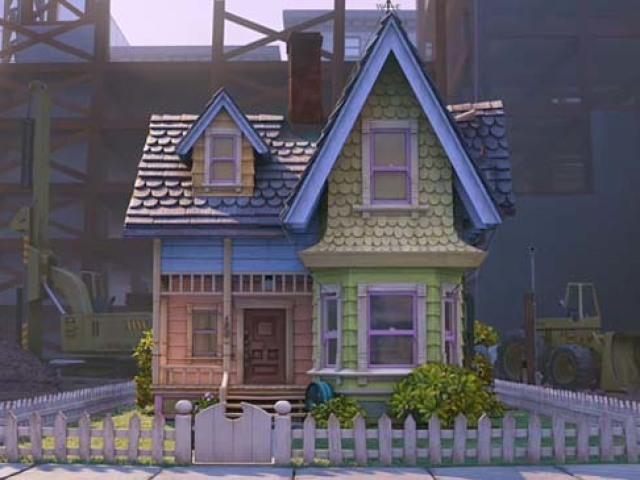 Картинка дома из мультика вверх