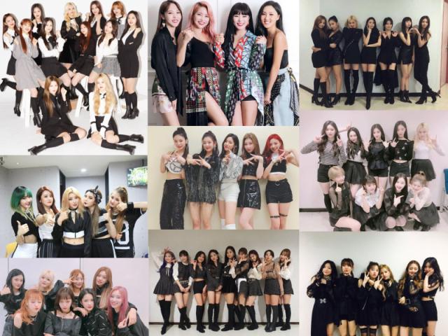 Qual girl group essa idol pertence?