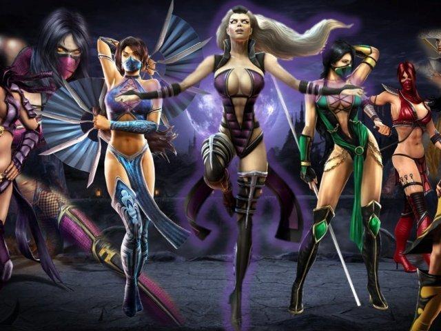 Quem você seria das lutadoras de Mortal Kombat 10?