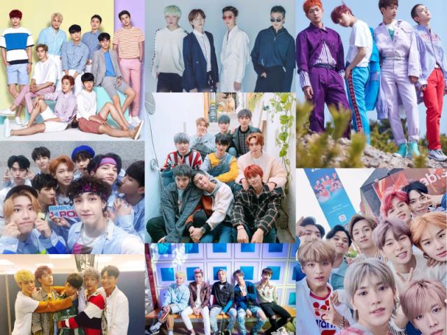 Qual boy group esse idol pertence?