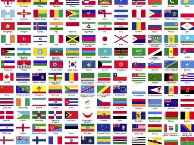 Você sabe a qual país pertence essa bandeira?