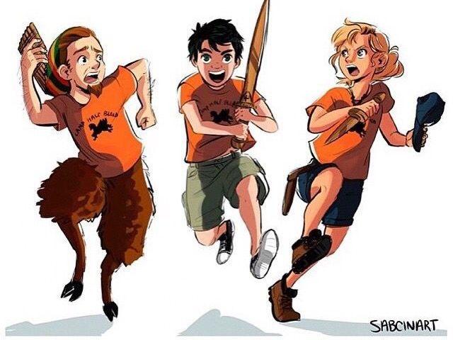 Percy Jackson e os Olimpianos!