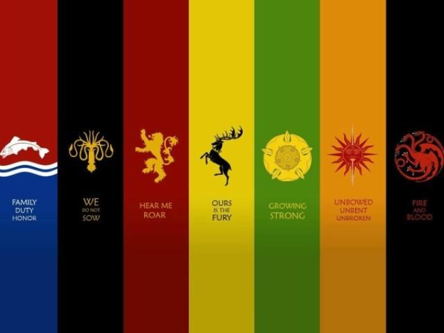 A qual casa de Game Of Thrones você pertence?