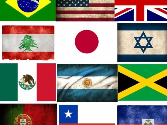 Você realmente conhece as bandeiras do mundo?