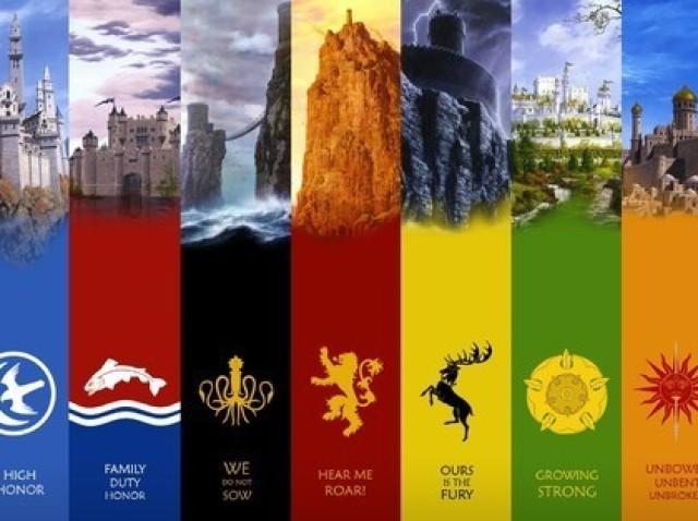 A qual das grandes casas de Game of Thrones você pertence?