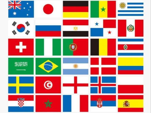 Será que você conhece o país pela bandeira?