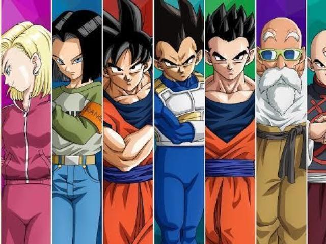 Quem você seria em Dragon Ball Z/GT/Super?