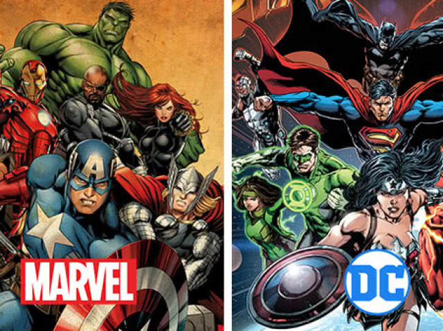 Marvel vs. DC: Você sabe quem é a cópia?