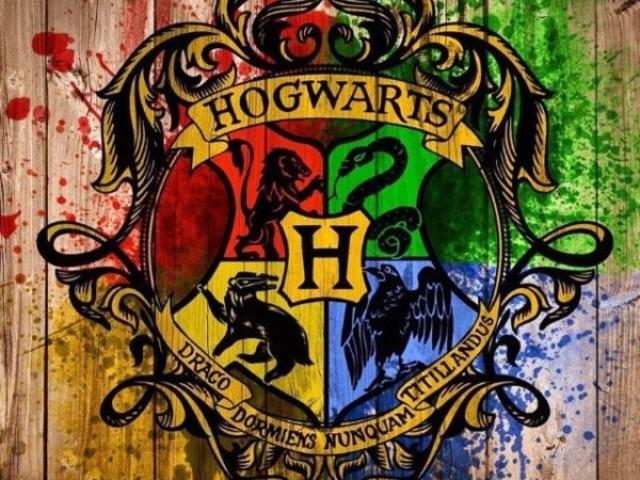Descubra qual a sua casa em Hogwarts!