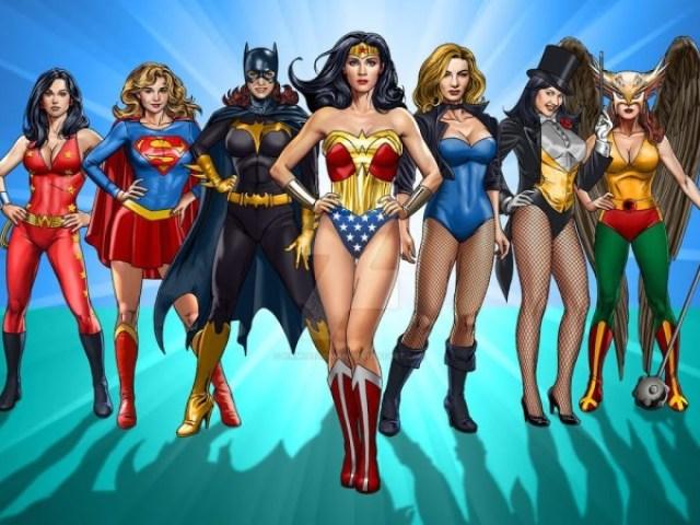 Qual super heroína você é?