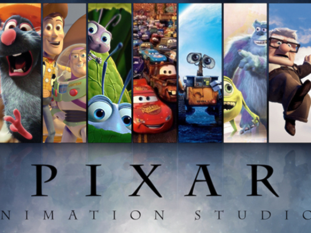 Você conhece os filmes da Pixar?